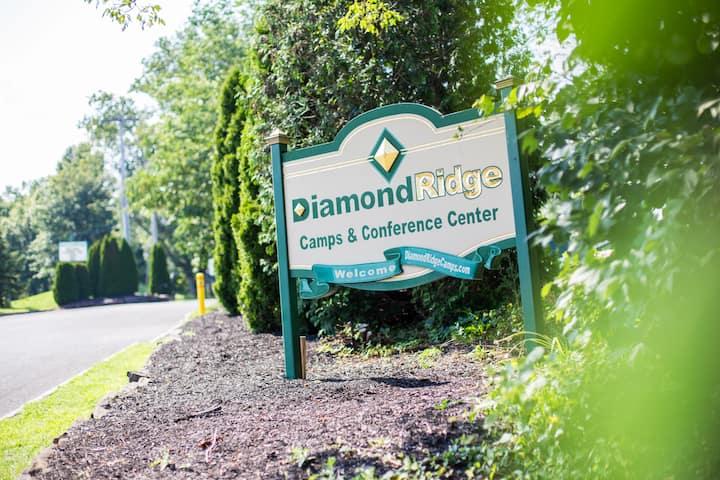Diamond Ridge Camping with a Twist (Cabin D-2)