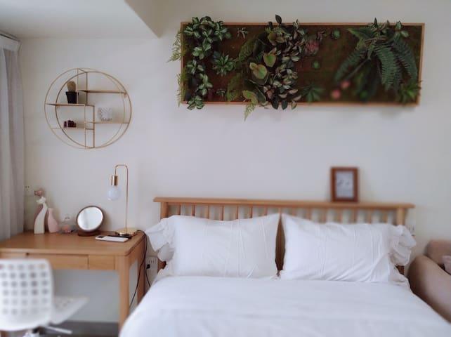 全橡木大床,点赞率超高的宜家超舒适床垫