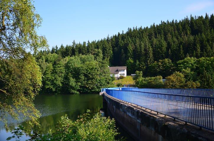 Ferienhaus Lütsche - Wohnung groß EG - Frankenhain - Appartement
