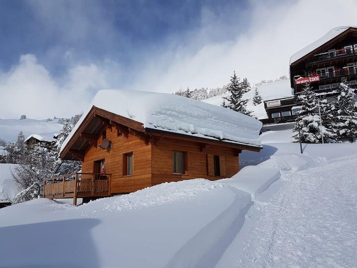 Raus aus dem Nebel! Sonne, Schnee, eigenes Chalet!