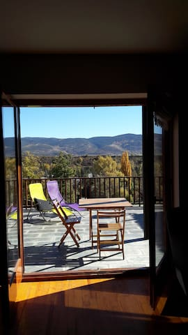 Nice place with big terrace for families/friends - Bolvir - Apartamento