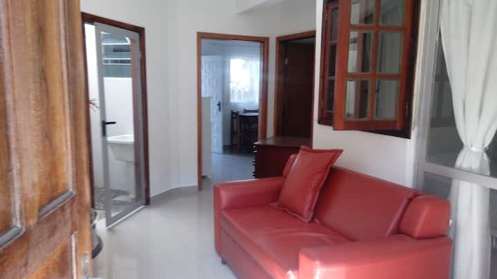 Apartamento silencioso e aconchegante