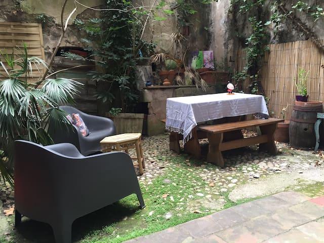 Loft & petit jardin, calme en plein centre ville - Marsella - Loft