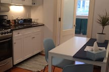 Another View of Kitchen Area with Table