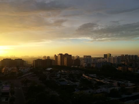Mirador del Caribe. Beautiful View.