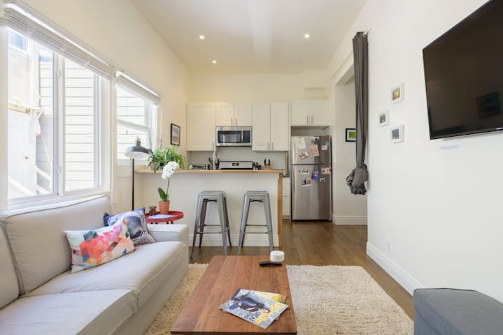 Perfect for Solo Traveler - 4min walk to BART!