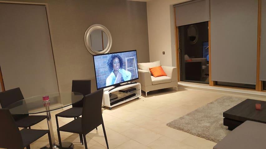 Luxurious apartment 10 mins from city center - Dublin - Huoneisto