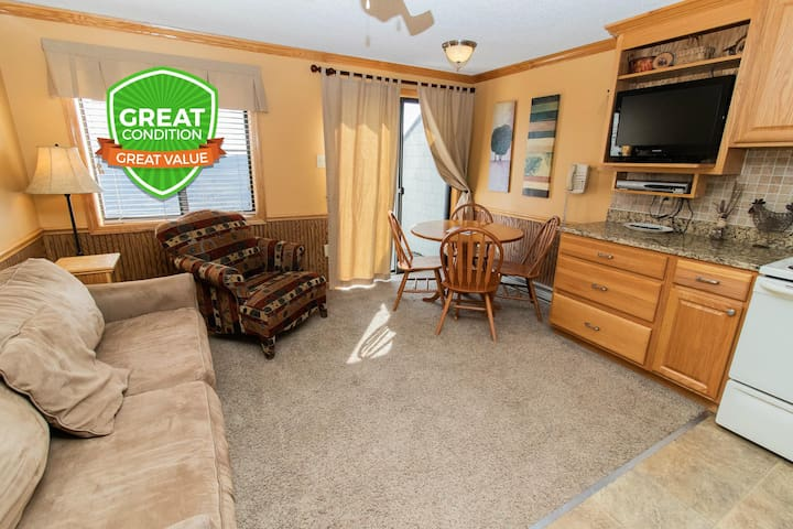 ML358 1BR/1BA Mountain View - Next to Village - FREE Wi-Fi and Parking