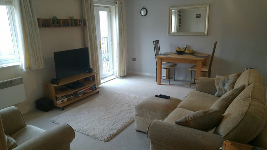 Small private room with parking - Pontprennau - Byt