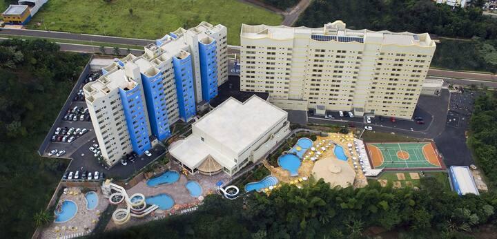 Apt 332 - Golden Dolphin Grand Hotel, Caldas Novas