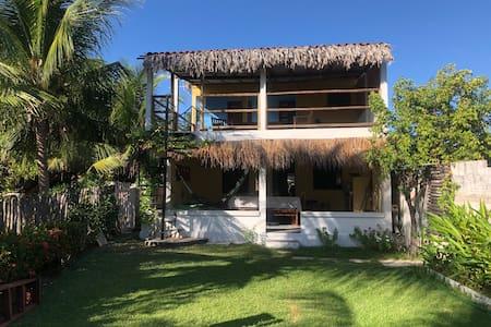 Maison à Parajuru, vue sur mer et kite surf