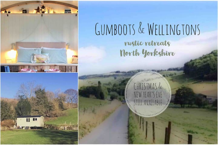 Gumboots & Wellingtons rustic retreat Dalby Forest