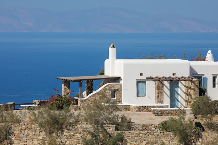 Private sea view House with pool -Fanari1 Mykonos.