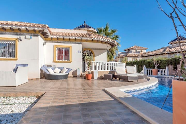 Stunning Villa with fabulous swimming pool.
