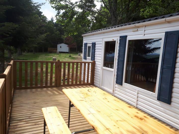 Rental-Private bathroom-Open terrace Mobile home