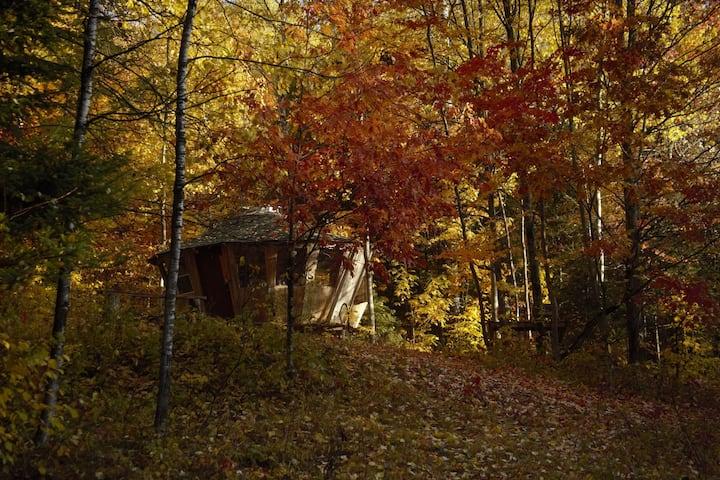 LeTerrain - Magical Wooden Yurt