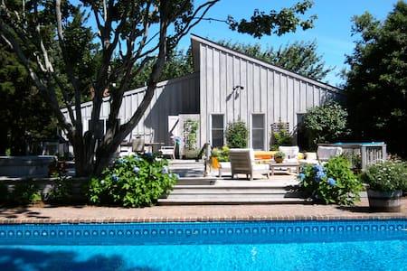 East Hampton, Beautiful Home Near The Bay W/Pool - East Hampton - Hus