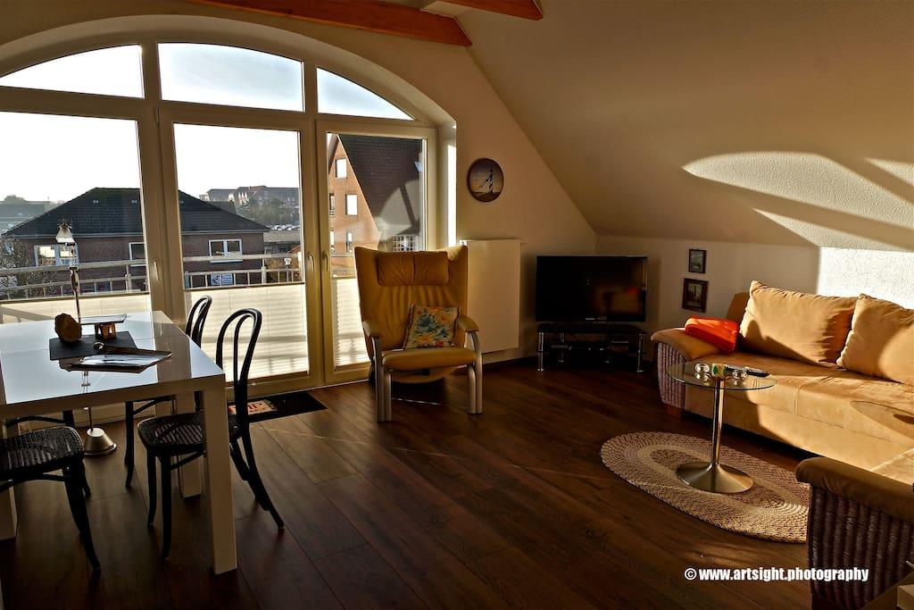erholung im familienfreundlichen norddeich am meer. Black Bedroom Furniture Sets. Home Design Ideas