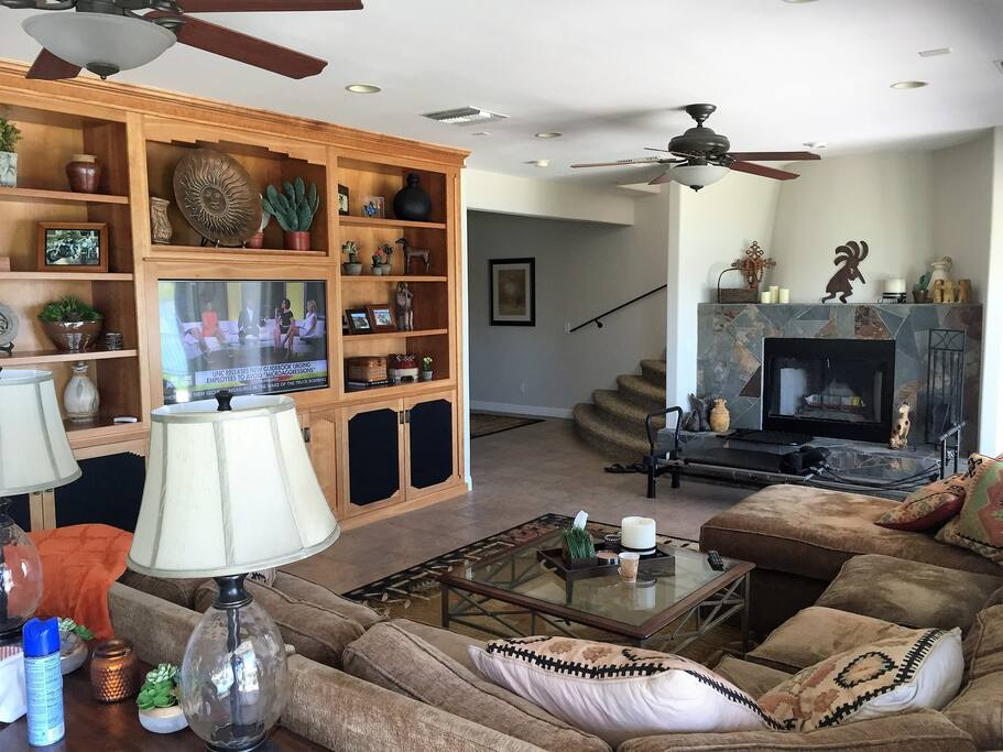 The Family Room Area