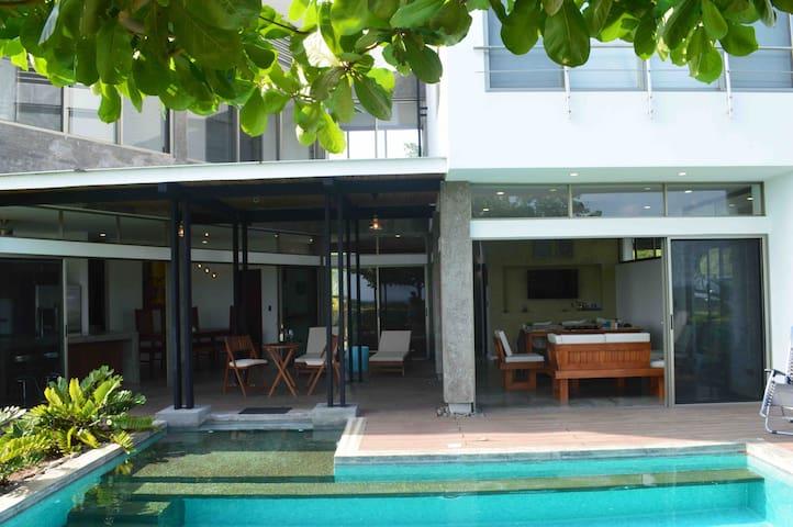 Hijau House at Marbella Beach, Costa Rica.