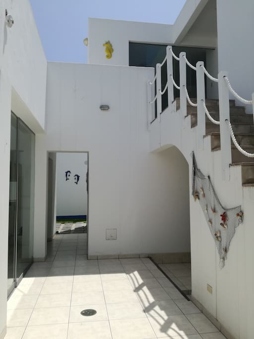 Entrada a la casa!!!  Inside the house!!!
