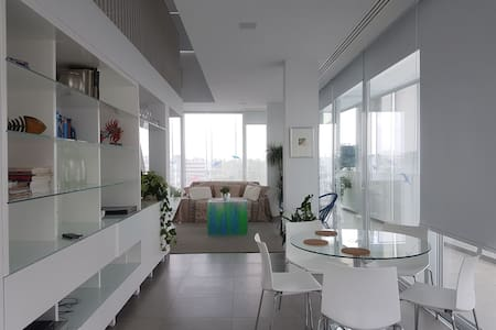 Loft with a  spectacular view