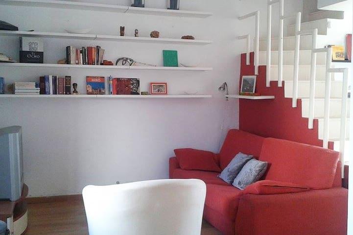 Apartamento dúplex en zona tranquila junto al mar. - Ciutadella de Menorca - 公寓