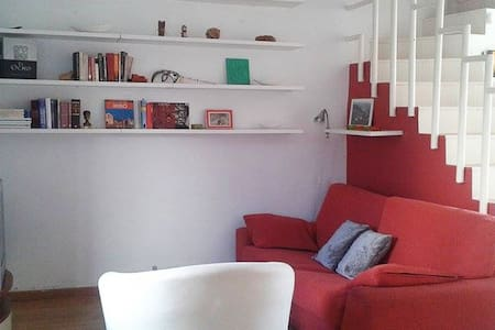 Apartamento dúplex en zona tranquila junto al mar. - Ciutadella de Menorca - Apartament