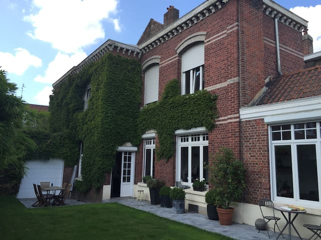 Belle maison proche Lille, séjour en famille. - Roubaix - House