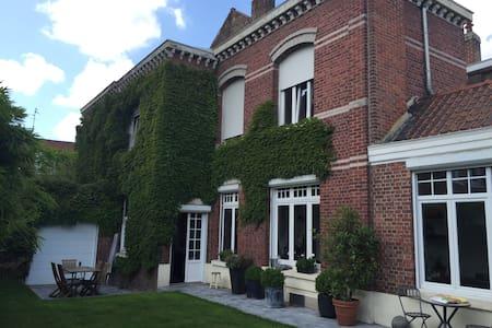Belle maison proche Lille, séjour en famille. - Roubaix - Casa