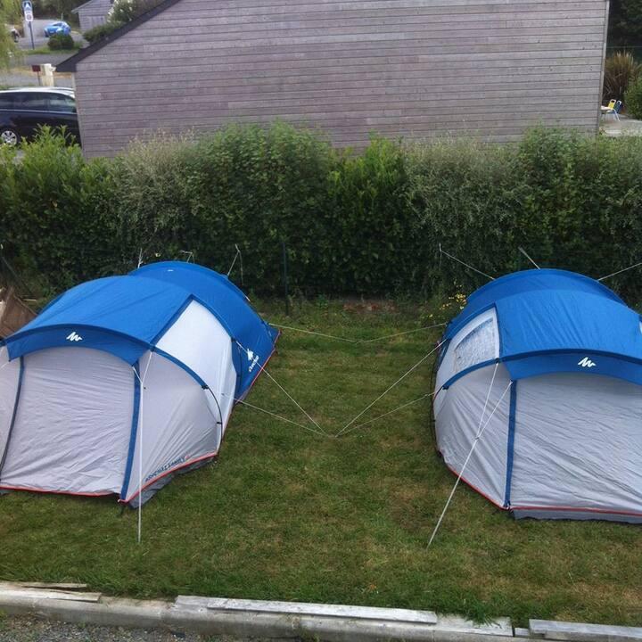 Toiles de tentes