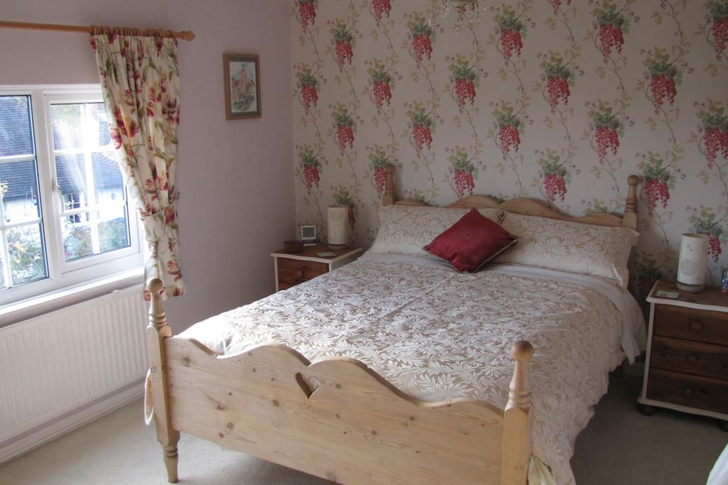 Comfortable cosy room with everything you need.  TV, DVD player and hospitality tray