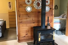 Fireplace/wood stove