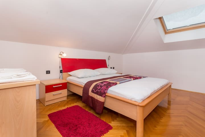 One of the two newly furnished bedrooms