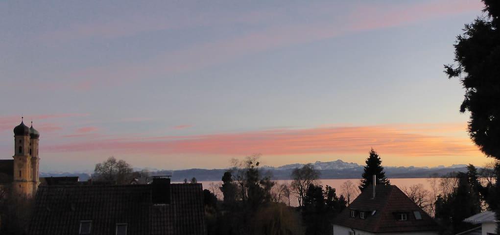 See, Schloss, Berge 1