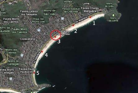 Estudio en el corazón de Copacabana - Rio de Janeiro