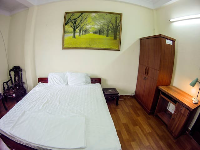 King bed inside bedroom 1