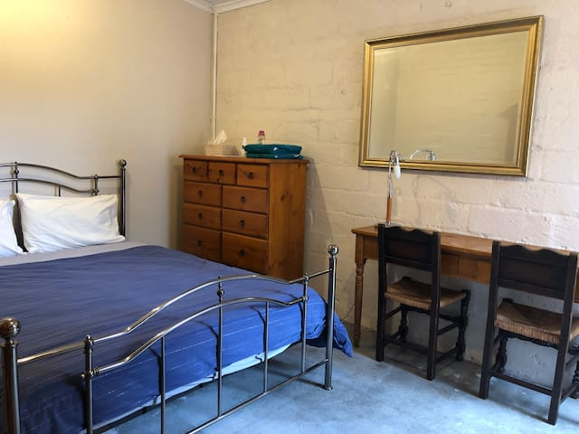 Large, quiet, private room, near train and city