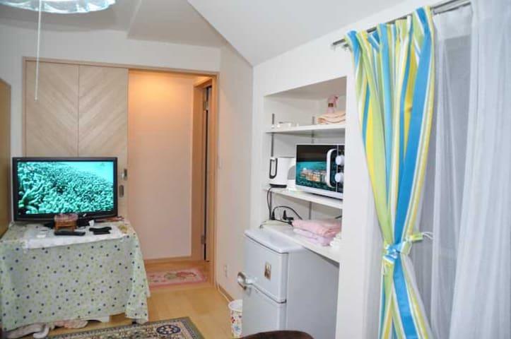 靠近新宿的房间,只限女士入住