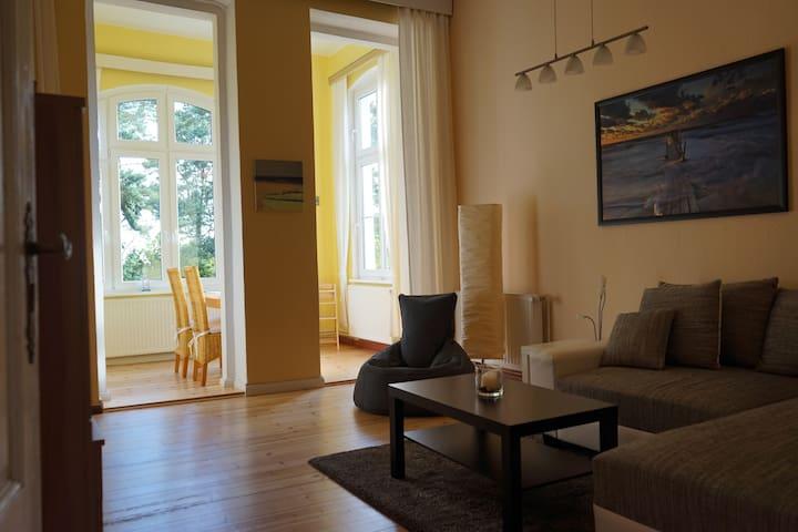Ferienwohnung - Villa Iduna 1 - Ostseebad Heringsdorf - Pis