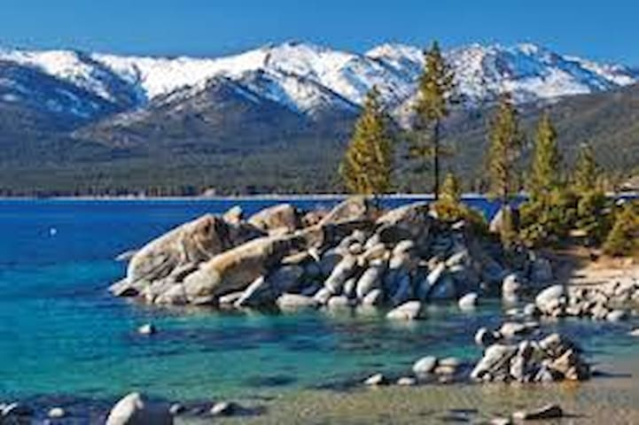 Lake Tahoe Keys Waterfront Beauty/New Boat Dock!!!