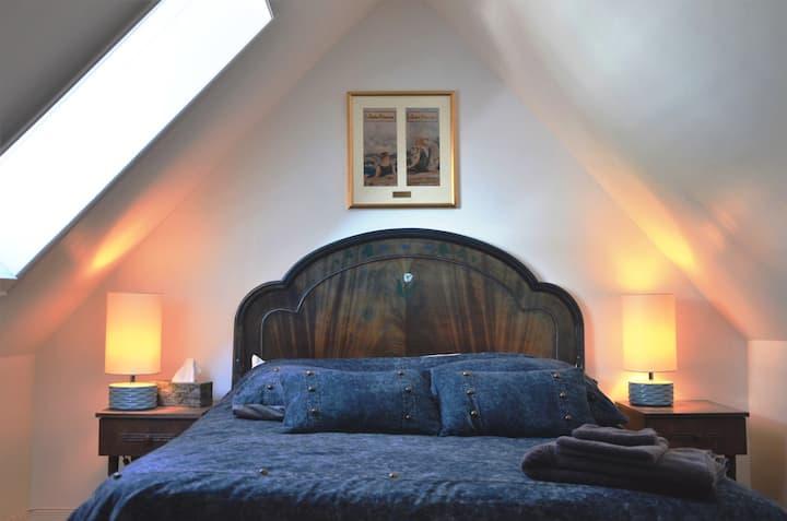 Chambre avec accès à la terrasse !