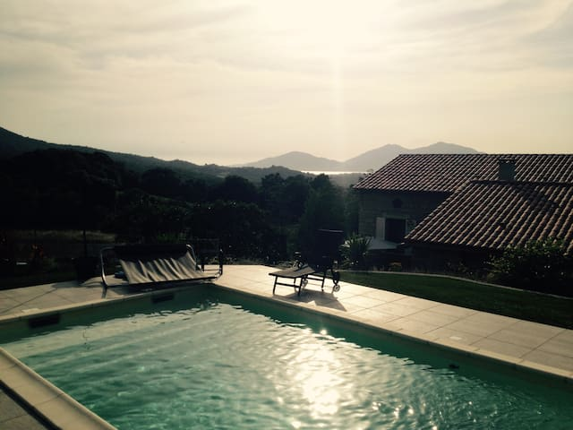 Maison en pierre - Cauro - House