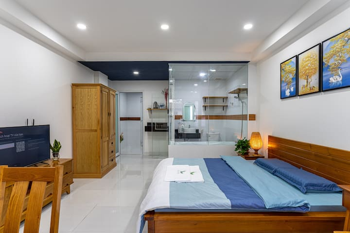 Central SaiGOn: Entire apartment one bedroom