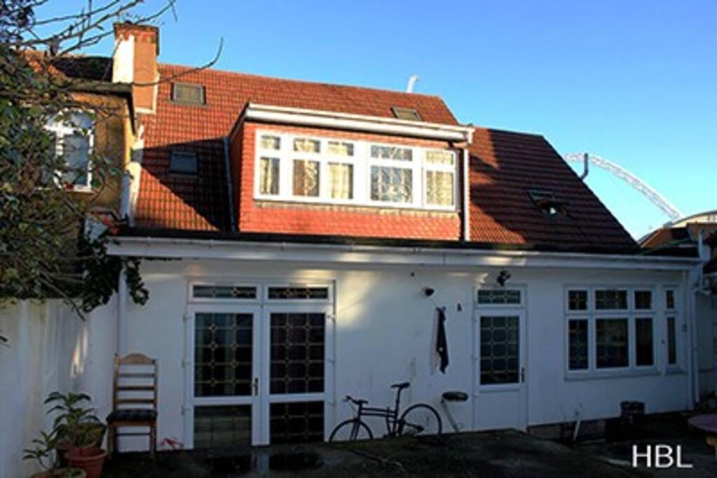 Habitaciones baratas londres guesthouse for rent in for Alojamiento familiar londres