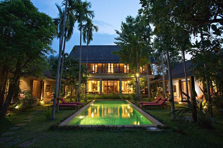 Paya Villa, Ping Riverfront Home