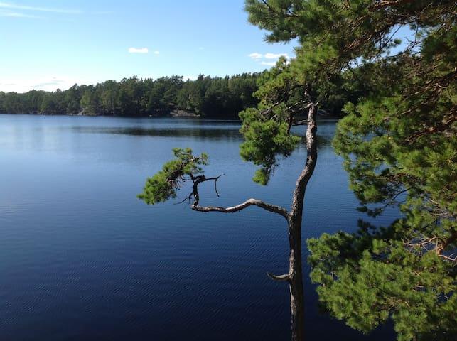 Lakeside house in Stockholm archipelago