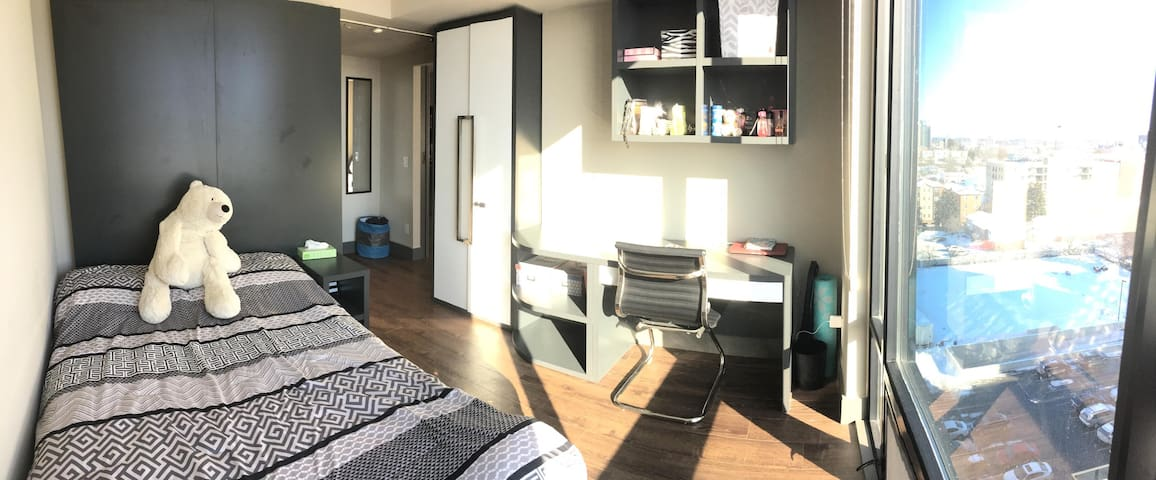 1 room in a 2 bedroom apartment near UW