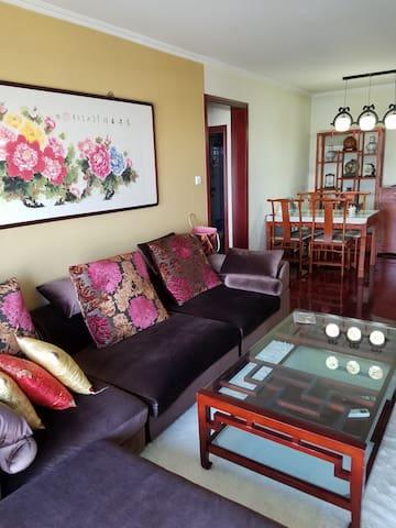 温馨中式两居室酒店式公寓 - Langfang Shi - Pis