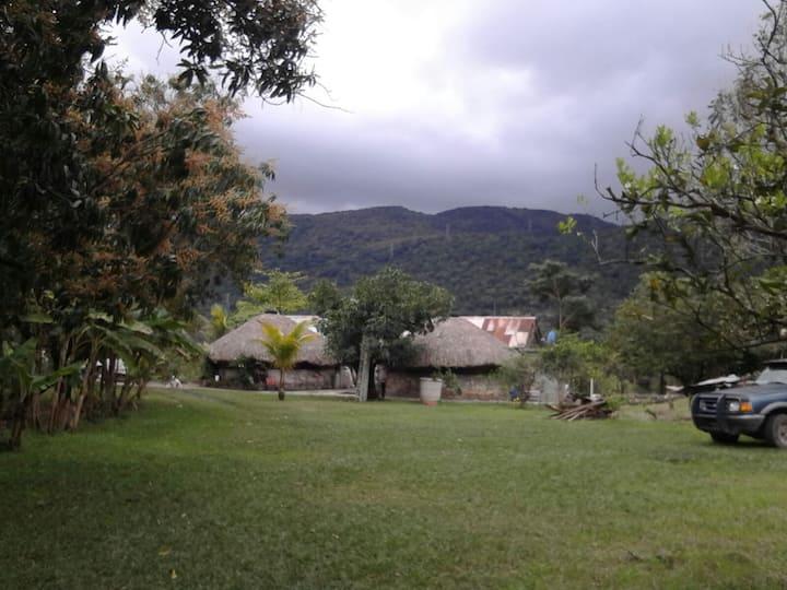Cabaña del Tio Nacho, ambiente privado y familiar.